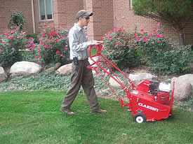lawn aeration dayton ohio
