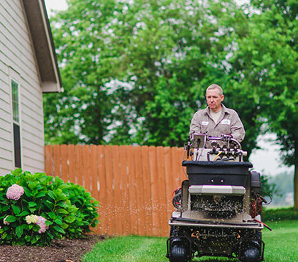 cincinnati organic lawn care service dayton