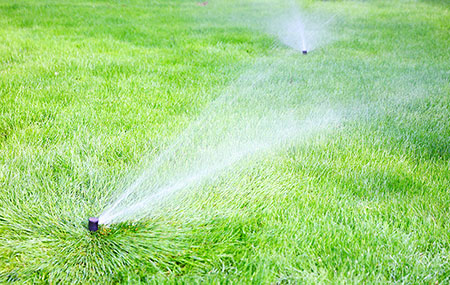 how do i water my lawn?