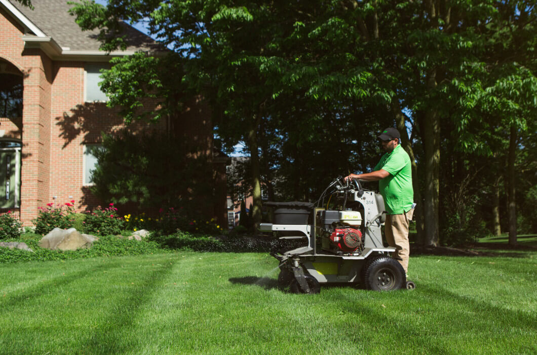 the organic turf company lawn service